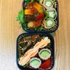 ラタトゥイユ弁当と新鮮な産直お野菜