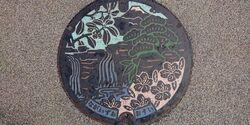 静岡県駿東郡長泉町のマンホール