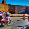【イタリア一人旅】カンポ広場を世界一美しく世界一くつろげる広場に認定です