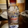 フランスパリ旅行で購入したエビアン水