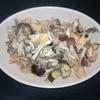 ホットクック 試作レシピ スープパスタコースで、ナスときのこの和風味噌パスタ(2人分)