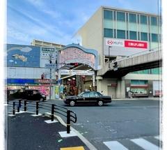 ★阪急電車 池田駅前