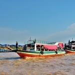 「トンレサップ湖(Tonle Sap Lake)」~シェムリアップ川から東南アジア最大の湖へクルーズ!!①