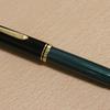 ペリカン万年筆スーベレーンM800 緑縞 90年代モデル