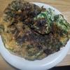 レタスとバジルの卵焼き