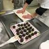 和菓子作り体験、道明寺桜餅と桃のねりきり