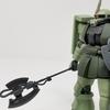 1/144 ザクⅡ(Wフィールド防衛戦仕様) 改造ガンプラ/HGUC ザクF2 & HGUC ジョニー・ライデン専用ザク ミキシング