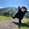 くまモン 長野県の斑尾高原(まだらお こうげん)に出没