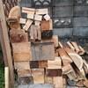 薪ストーブ始生代45 焚き付けの端材を貰ってくる