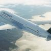 キャセイの新規路線はA350で運行ーアラスカ航空での特典航空券でも発券可能!!
