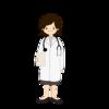 女性の医者などイラスト6点をイラストACに追加したよ!
