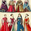 中世のドレスの再現
