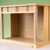 小型サイズの神棚を収めておきたいときに使う神棚ガラスケース