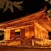 夏の夜 幻想に浮かぶ富貴寺(ふきじ)大堂