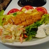 Deep fried chiken salad