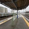 上諏訪駅にて^^…2020年中央東線