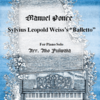私の7曲バトン・2曲目 ~ ポンセ作曲「ヴァイスの『バレエ』」ピアノソロ版