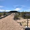火星探査機のテスト場?モハーベ砂漠の火山クレーター | カリフォルニアのトレッキング