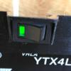 バイクバッテリーを電子工作で使いやすくするためにスイッチ付きアダプターを作ってみた