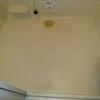 浴室床の黒い汚れの掃除in旭川のハウスクリーニング