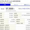 8月13日売買結果(RDSB 15株)