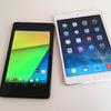 Googleは8.9型Nexusタブレット決定、Appleは大画面iPad計画棚上げか
