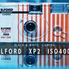 はじめて使った白黒フィルム。シャッターを切るだけで撮れて、カラーネガと同じように現像できるILFORD XP2の使い切りカメラ。