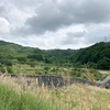藤沢川砂防林1号ダムと、尾白川下流砂防堰堤