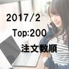 【2017年2月】AliExpress売れ筋ベスト200のデータ(注文数順)