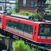 箱根湯本駅で