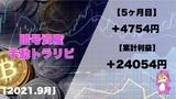 【15万円 Start】暗号資産の手動トラリピ!5ヵ月運用した結果