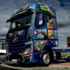 ポーランドメルセデスベンツ、宇宙をテーマにした斬新なトラックを発表