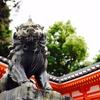 1年前は京都で陰陽師&四獣神社等巡り