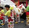 神戸・南京町の中秋節 その2は10月7日(土)の南京町。