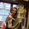 マイヤちゃん、福島の猫に会う