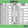 10/23(日)菊花賞の予想。やっぱりロブソンからの馬連を押さえました。