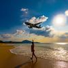 プーケットで絶景の夕日/サンセット飛行機ビーチはきっと感動しますよ♩♩