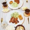 おうちごはんづくりの記録(洋食、和洋折衷3日分)/My Homemade Dinner/อาหารมื้อดึกที่ทำเอง
