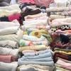 洗面所の収納からタオルが61枚!