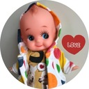 キューピー人形とおかんアート