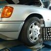 BENZ W124TE      MENTEC車検&シリンダーヘッド