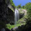 滝の写真 No.30 鳥取県 北谷の雨滝