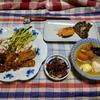 幸運な病のレシピ( 2441 )夜: トンカツ、カキフライ、おでん、ボイルイカ