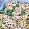 豚肉と万願寺トウモロコシの炒め物