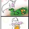 かぼちゃを題材とした4コマ漫画 | pumpkin