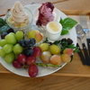 葡萄屋 kofu ハナテラス カフェ (ブドウヤコウフハナテラスカフェ) 山梨富士河口湖 フルーツカフェ ソフトクリーム
