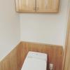 トイレブラシを使わない、トイレ掃除。