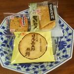 日光土産_日光甚五郎煎餅
