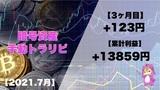 【15万円 Start】暗号資産の手動トラリピ!3ヵ月運用した結果