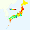 Rate of Deaths from Subarachnoid Hemorrhage by Prefecture in Japan, 2015
